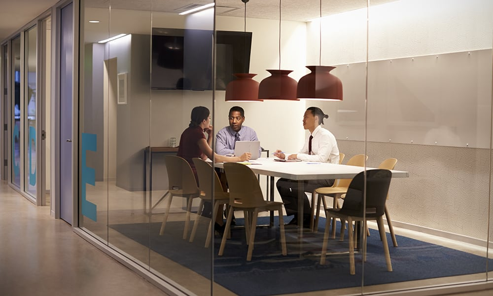 The traditional boardroom is on its way out. Well, not completely. But, huddle rooms have taken the market by storm as demand for more flexibility has risen.