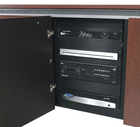 Here's what you should know before installing AV equipment into furniture.