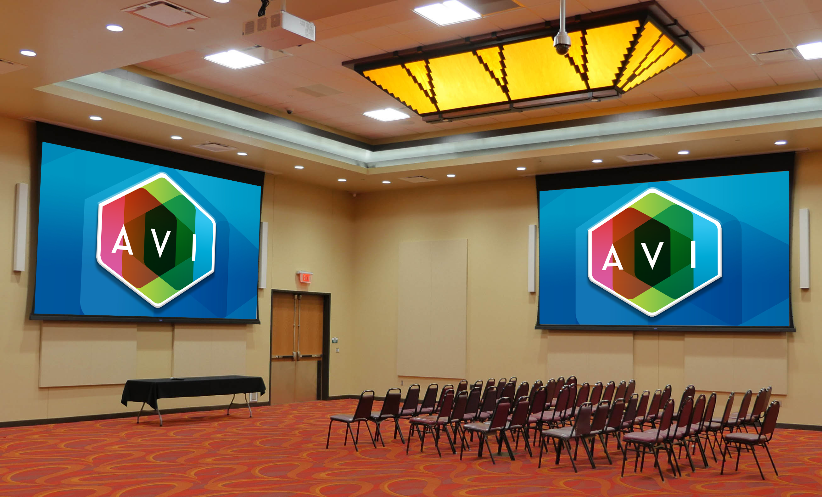 The 4 Bears Casino renovated its event center to include an auditorium where corporate events and parties can be held.