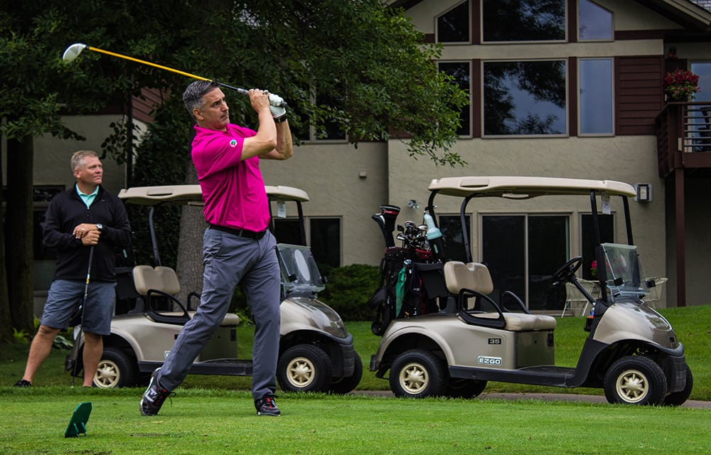 AVI Systems helped raise over $19,000 for the NSCA's IGNITE program on Monday.