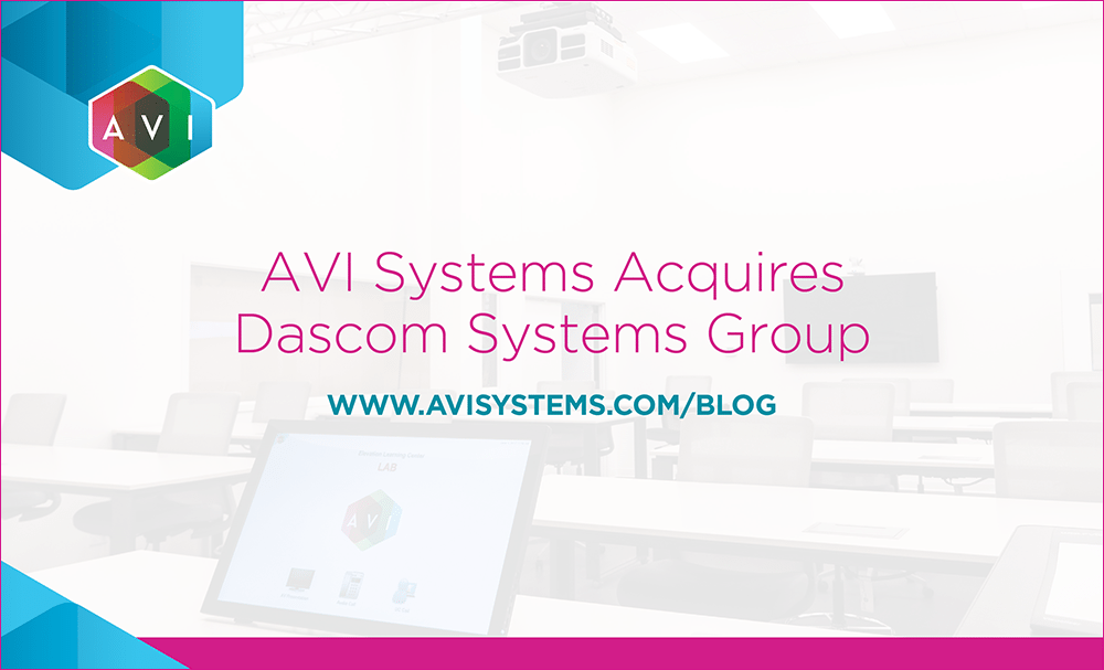 AVI Systems Acquires Dascom Systems Group