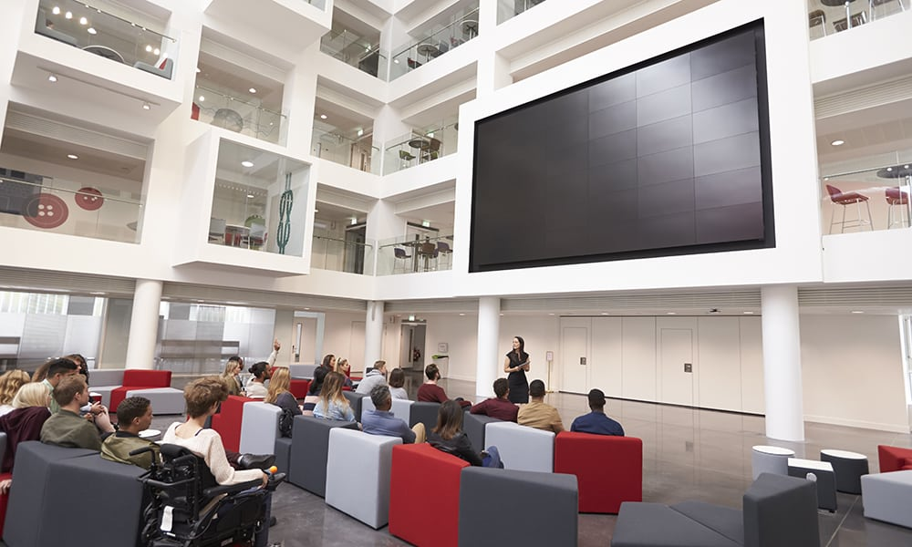 Digital Signage Can Improve Learning for K12, Higher Ed Students
